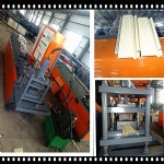 Slate Rolling Strip Shutter Door Forming Machine