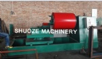 Hydraulic auto decoiler with carriage