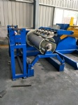 Hydraulic coil rolling uncoiler