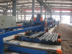 highway guardrail cold roll forming line