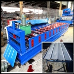 900 roof panel rollforming machine