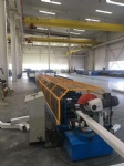 Round falling water roll forming machine